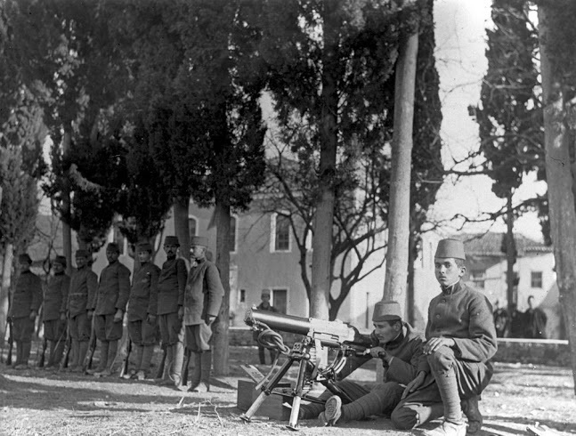 Albanian military in 1913
